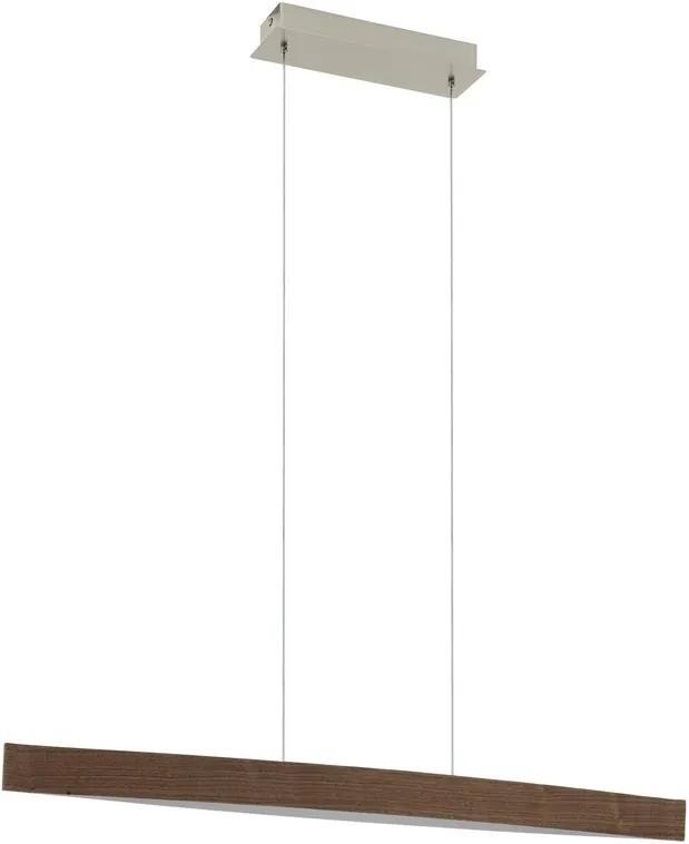 Eglo 93343 FORNES LED-závesné svietidlo drevené