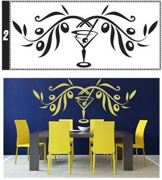 MAXMAX Samolepky na stenu ORNAMENTY color - vzor 2