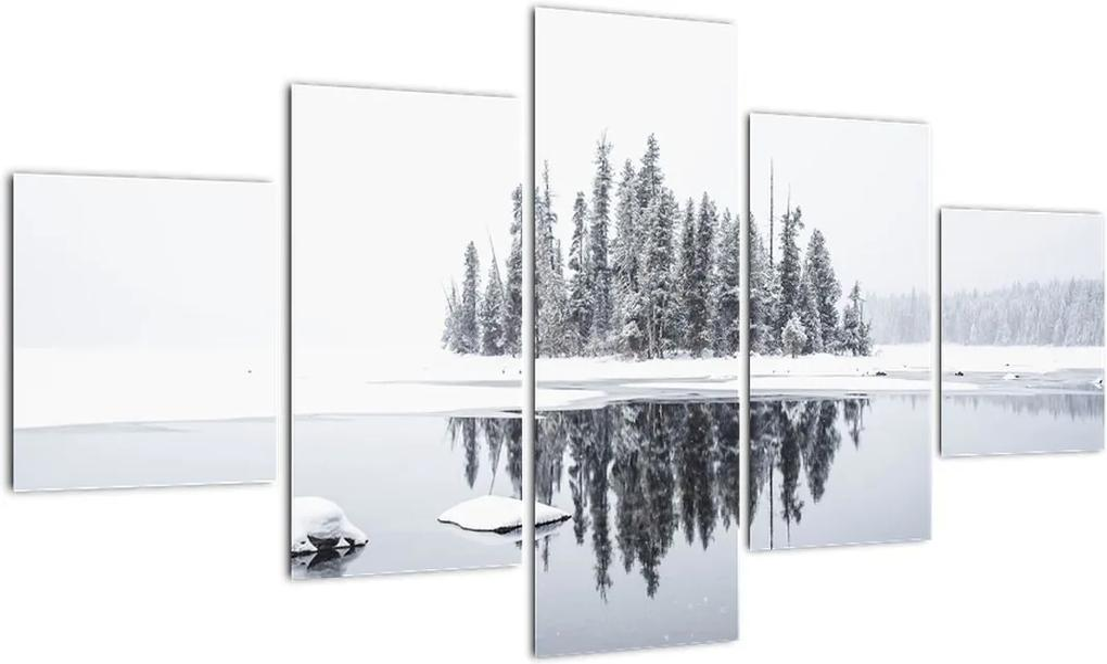 Obraz- Bolo bielo (125x70 cm), 40 ďalších rozmerov
