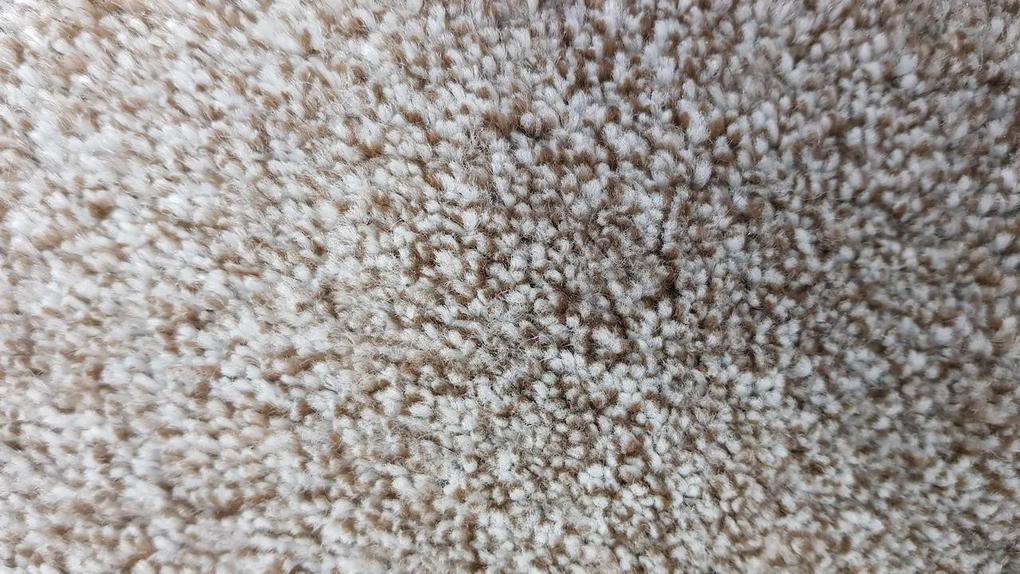 Vopi koberce Metrážový koberec Apollo Soft béžový - Rozměr na míru bez obšití cm