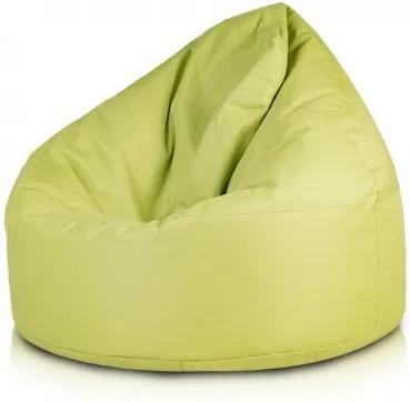 Ecopuf Sedací vak Ecopuf - VIPER polyester NC1 - Svetlo zelená