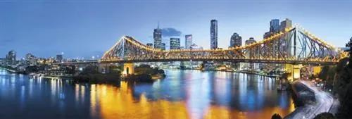 Vliesové fototapety, rozmer 368 cm x 124 cm, Brisbane, Komar XXL2-010