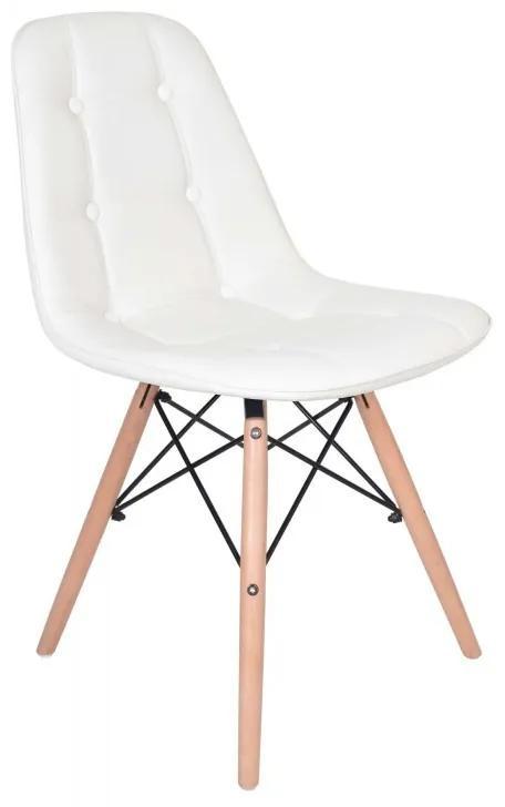 TZB Jedálenská stolička Lyon - biela
