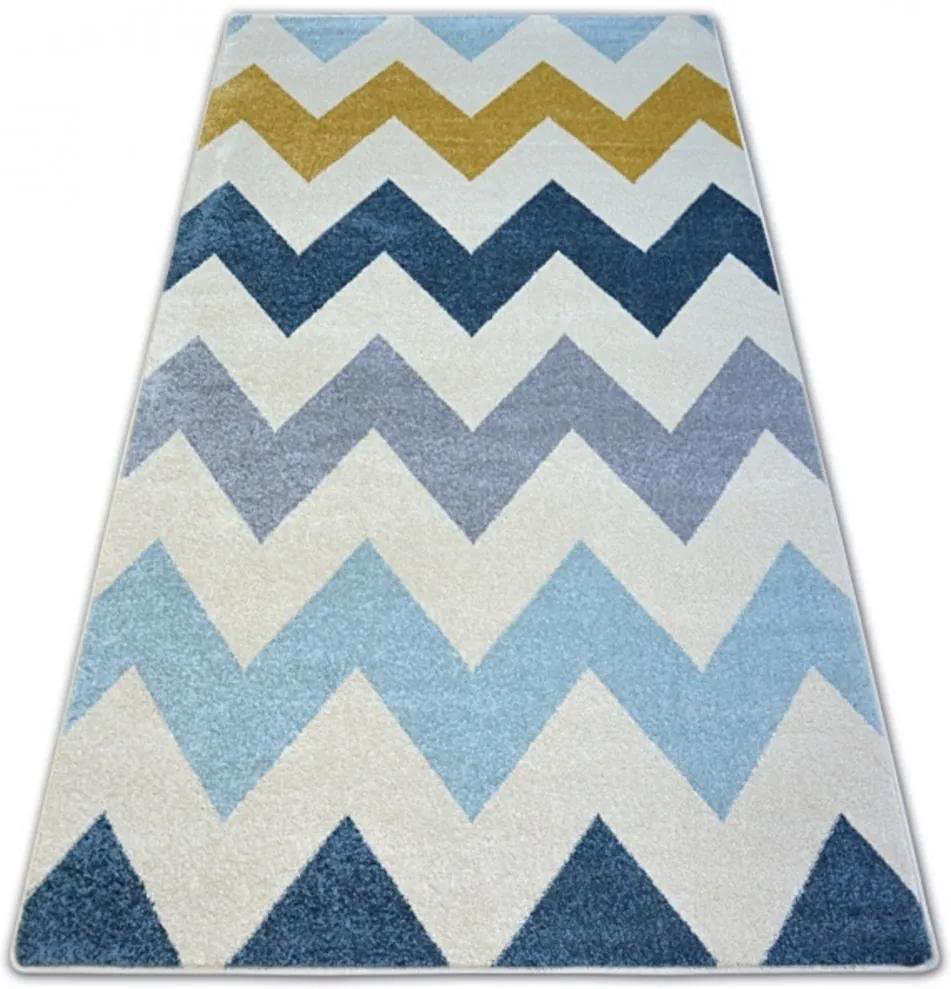 Kusový koberec Zac krémový, Velikosti 240x330cm
