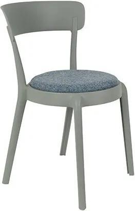 Židle HOPPE COMFY LIGHT GREY White Label Living 1100350