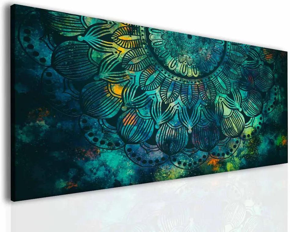 InSmile Mandala tyrkysové dění(150x80 cm)