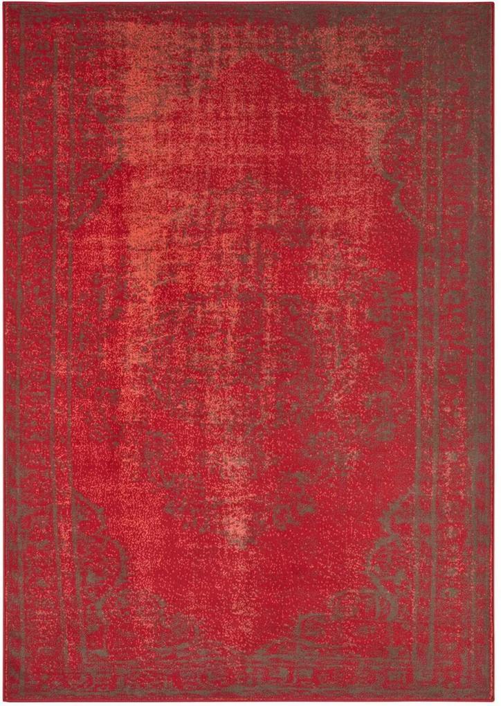 Hanse Home Collection koberce Kusový koberec Celebration 103461 Cordelia Red Grey - 200x290 cm