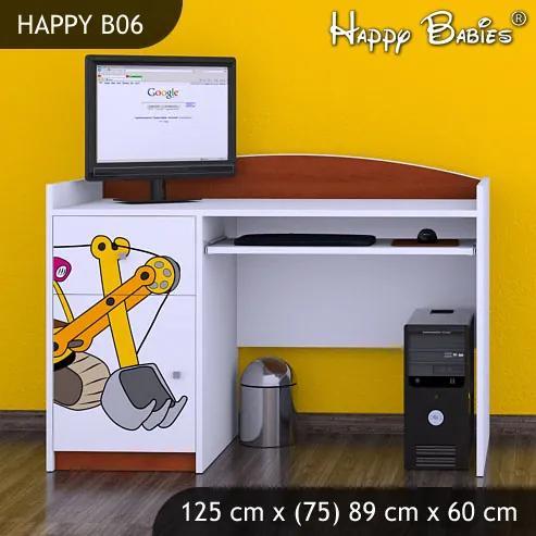 Písací stôl Happy Calvados B06