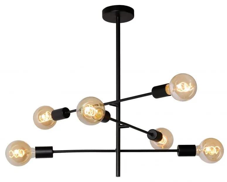 Retro a vintage svietidlo LUCIDE LESTER Ceiling light 21119/06/30