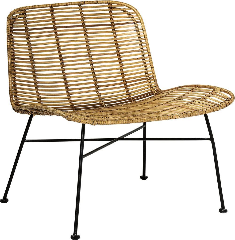 Bloomingville Kreslo ratanové - Dom Chair