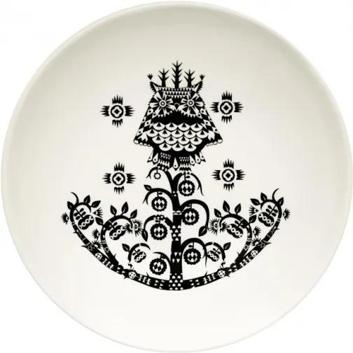 Hlboký tanier Taika 20cm, čierny Iittala