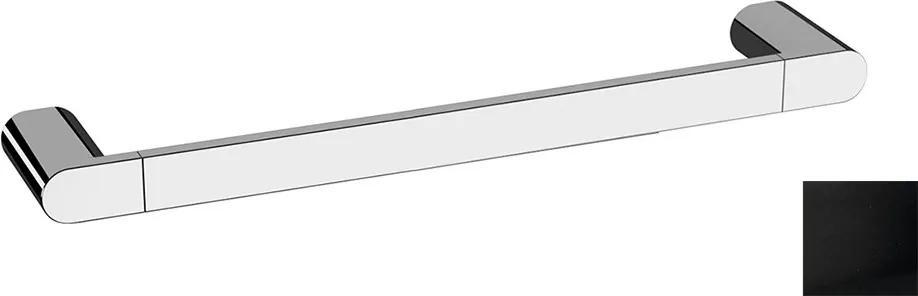 Flori RF010/15 držiak uterákov 400x70mm, čierny