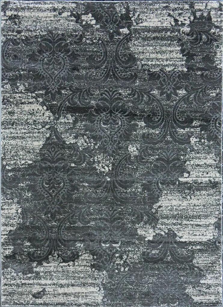 Berfin Dywany Kusový koberec Zara 8108 Grey - 60x100 cm