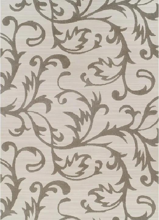 TEMPO KONDELA Gabby koberec 160x235 cm krémová / sivý vzor