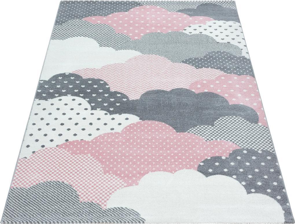 Ayyildiz koberce Kusový koberec Bambi 820 pink - 80x150 cm