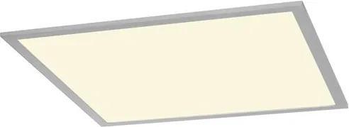 Zápustné svietidlo SLV I-VIDUAL panel LED pro mřížkové stropy 4000K stříbrošedá D/Š 617/617 158754