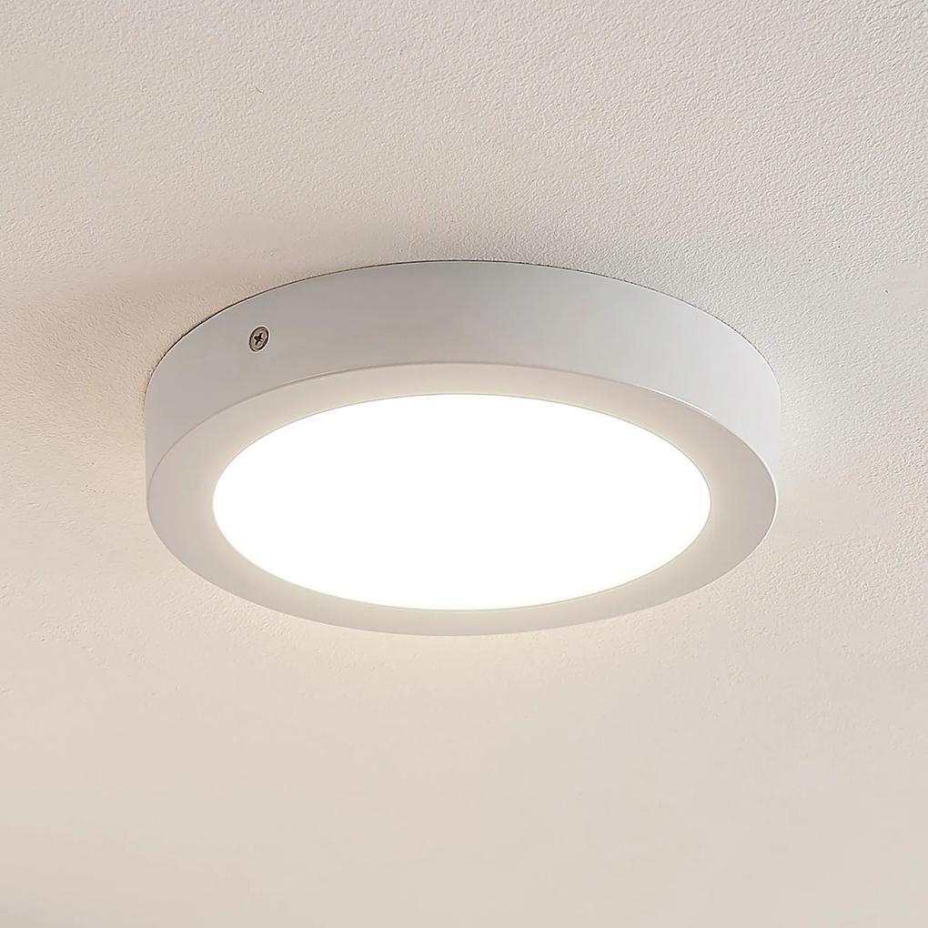 ELC Merina LED stropná lampa biela, 21,5cm