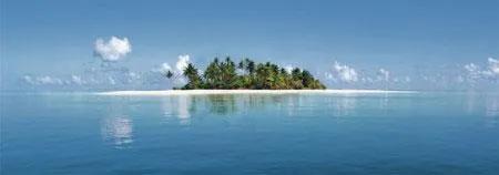 Fototapety, rozmer 366 x 127 cm, Maldive Island, W+G 369