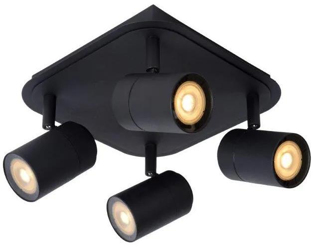 LUCIDE 26958/20/30 LENNERT stropné bodové svietidlo 4x5W/GU10 matná čierna