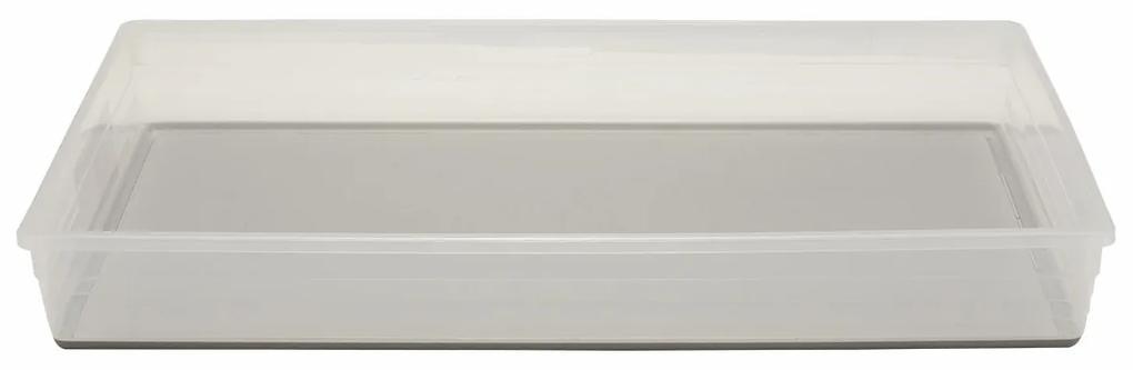 KIS Úložný box SISTEMO 9 - 24x39x5cm šedý