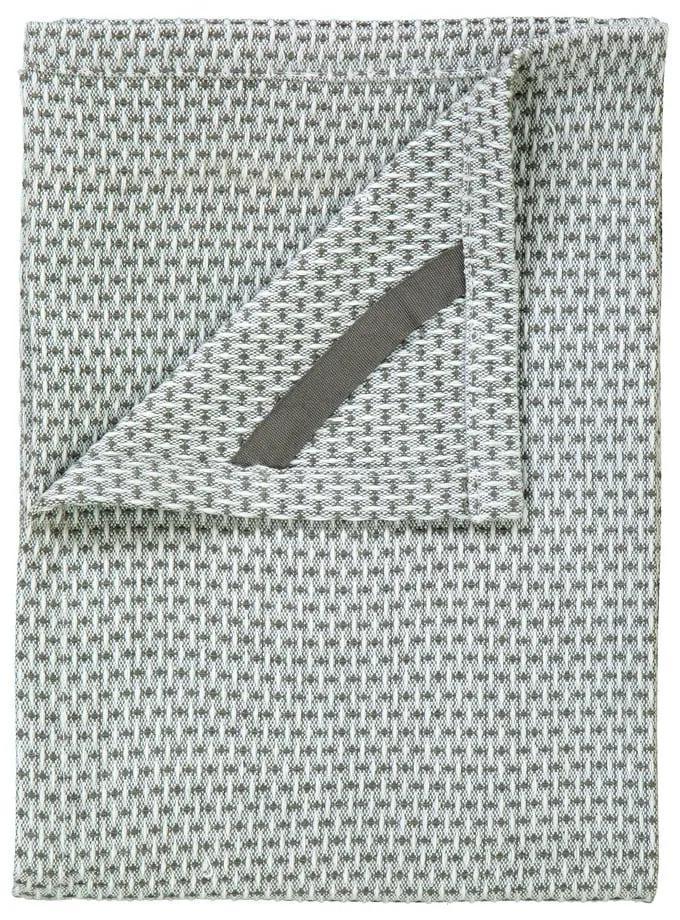 Sada 2 zelených bavlnených utierok na riad Blomus Pattern, 50 x 70 cm