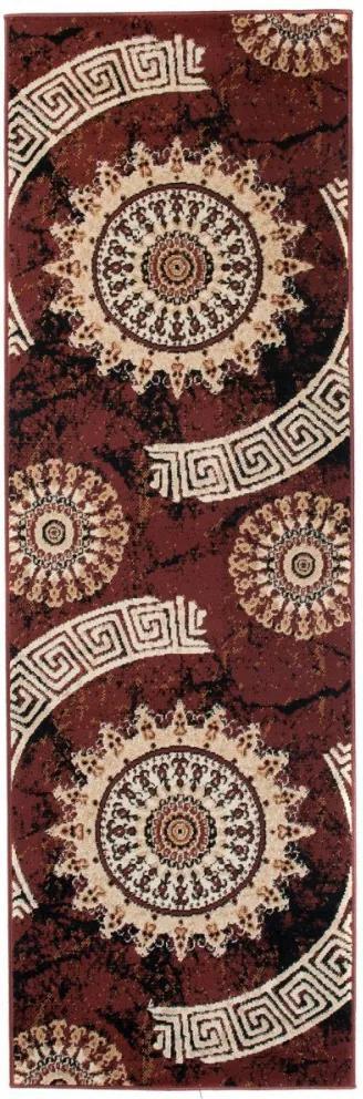Kusový koberec PP Jamin hnedý atyp, Velikosti 70x200cm