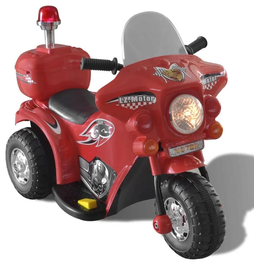 Detská motorka napájaná batériou (Červená)