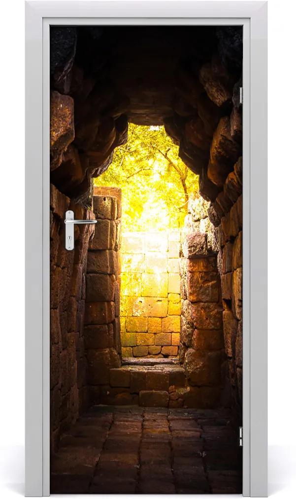 Fototapeta samolepící na dveře Pivnice zamku