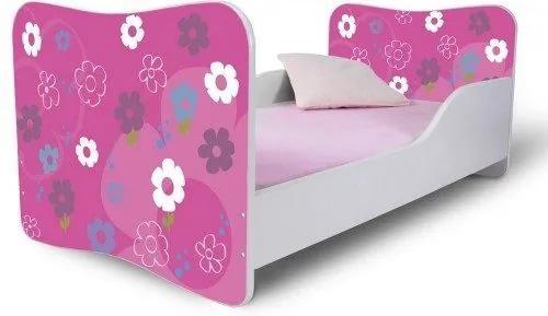 MAXMAX Detská posteľ BARBIE + matrac ZADARMO 140x70 pre dievča NIE