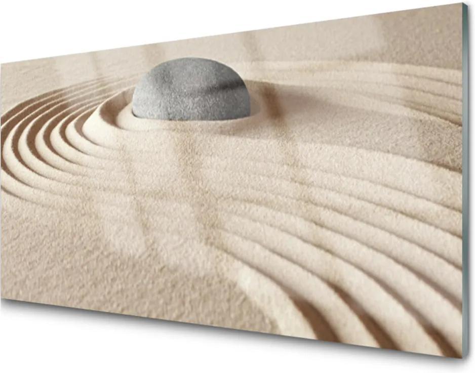 Obraz na akrylátovom skle Sklenený Pieskovec Umenie