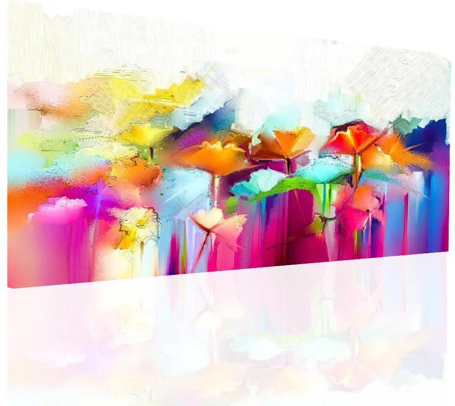 InSmile Obraz rozpité květy 90x60 cm
