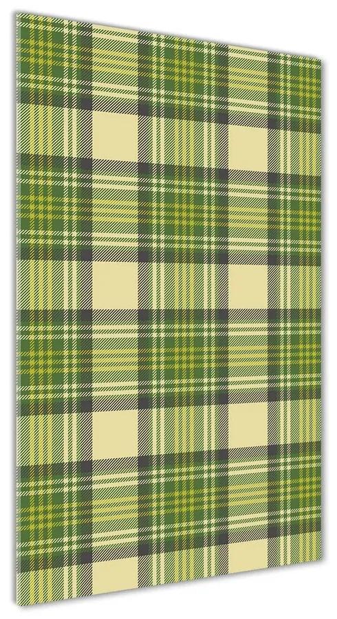 Foto obraz akrylový do obývačky Zelená mreža pl-oa-70x140-f-46310061