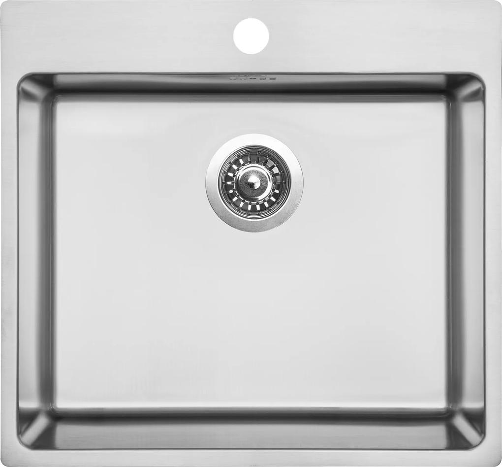 Kuchynský nerezový drez Sinks BLOCKER 540 V