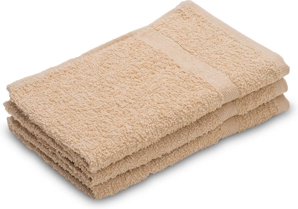 Detský uterák Basic béžový 30x50 cm