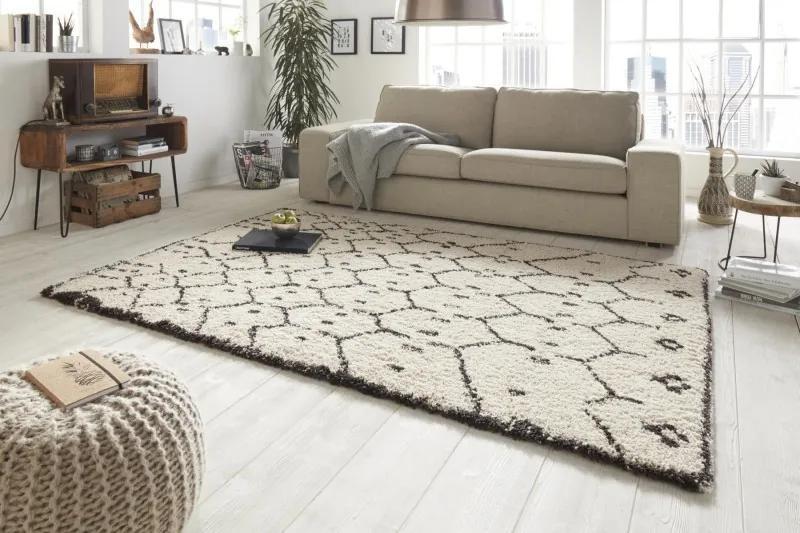 Mint Rugs - Hanse Home koberce Kusový koberec Allure 102757 braun - 80x150 cm