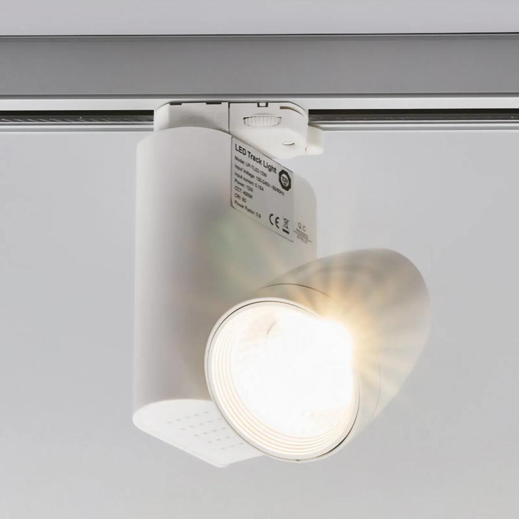 3-fázové prípojnicové svetlo Colin s LED