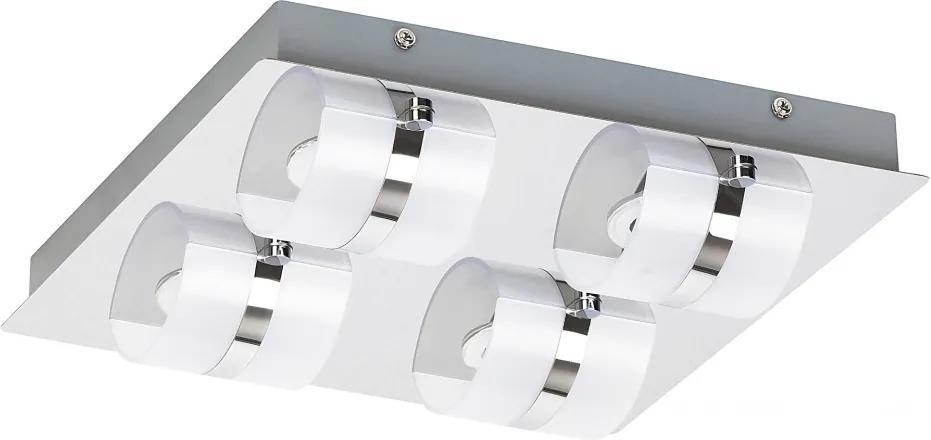 Rábalux Tony 5492 LED Vonkajšie Nástenné Svietidlá chróm biely LED 20W