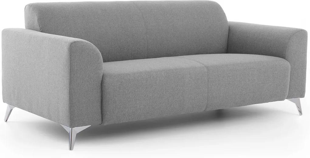 DREVONA 3-sed talianský design šedý AVA SIMPLY Inari 91, 3ALR