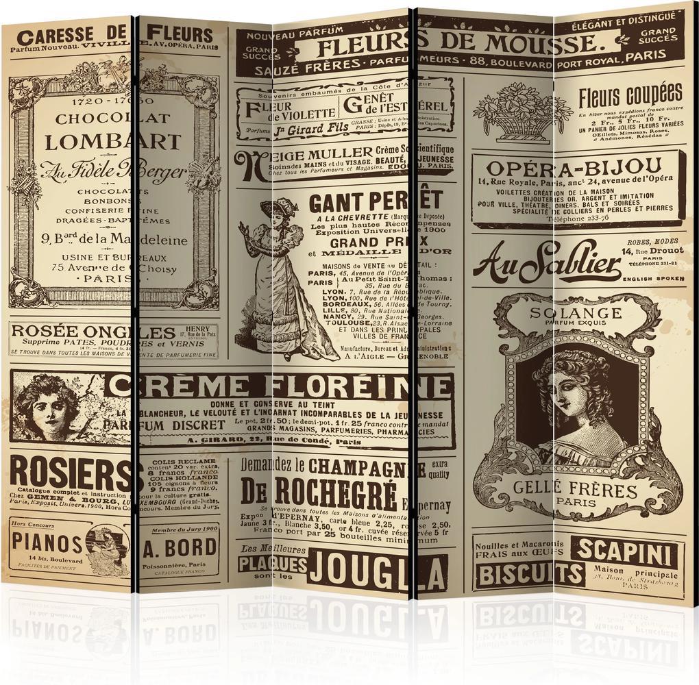 Paraván - Vintage Magazines II [Room Dividers] 225x172 7-10 dní