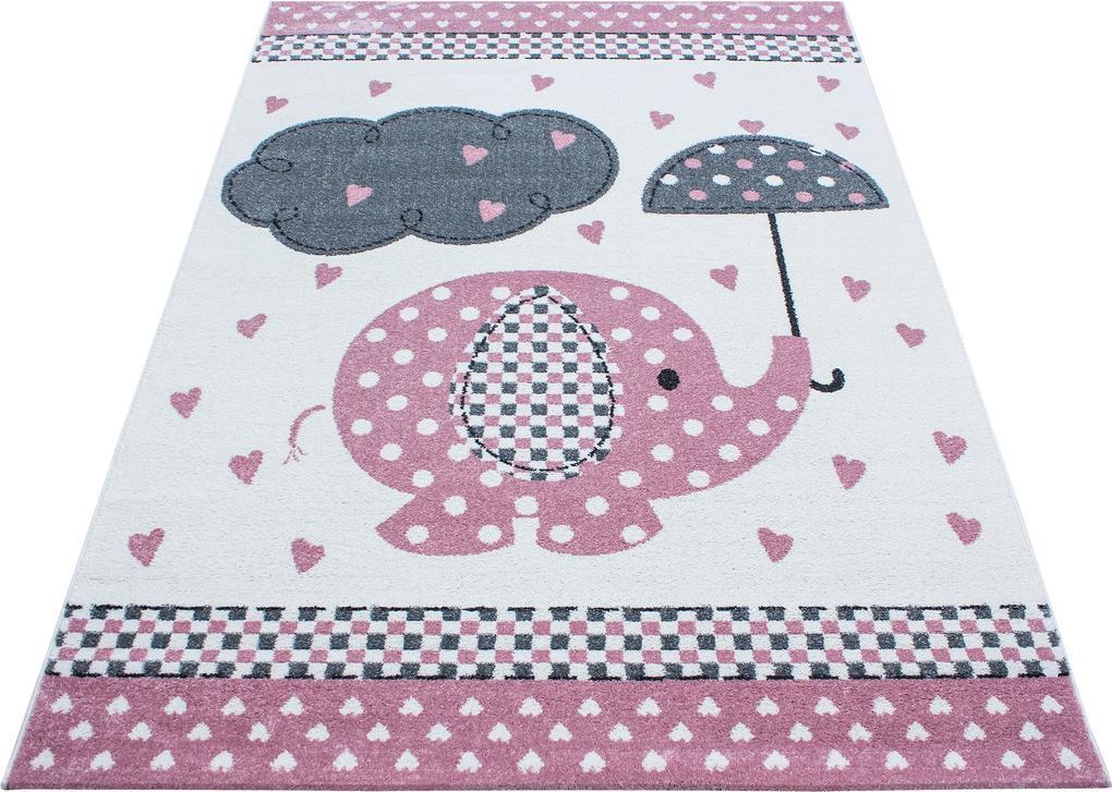 Ayyildiz koberce Kusový koberec Kids 570 pink - 80x150 cm