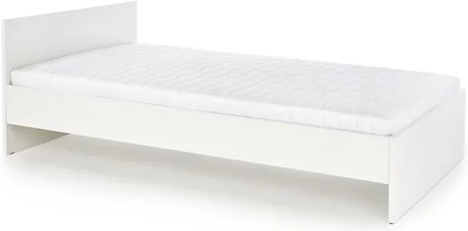 Manželská posteľ Lenka, 160x200cm, biela