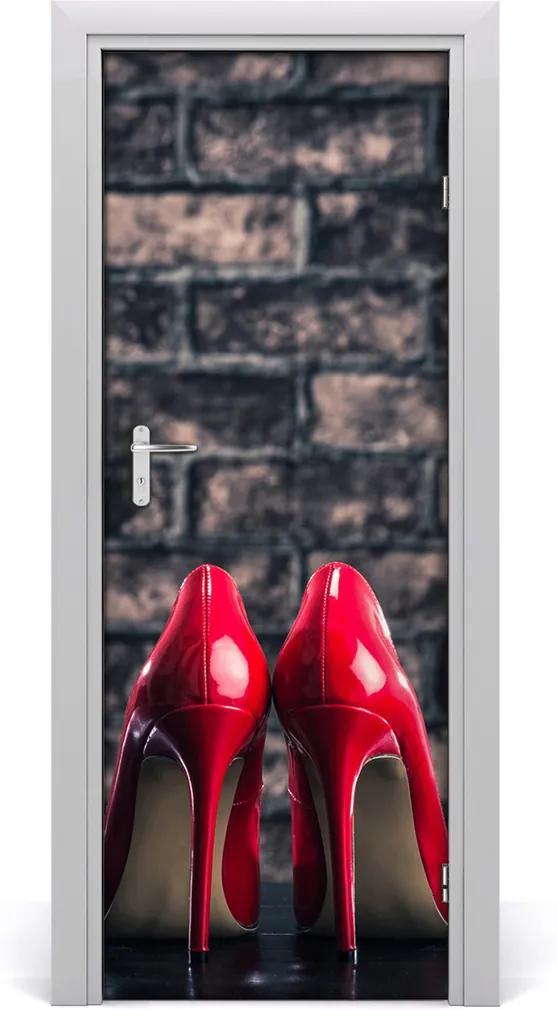 Fototapeta na dveře Červené podpadky