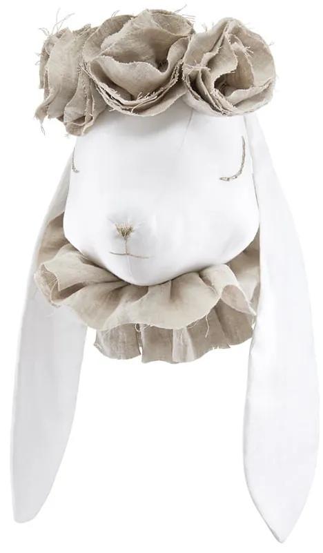 Dadaboom.sk Dekoratívny králik s kvetmi