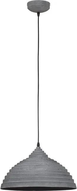 Nowodvorski 5070 Závesné svietidlo CONCRETE 5070 sivé