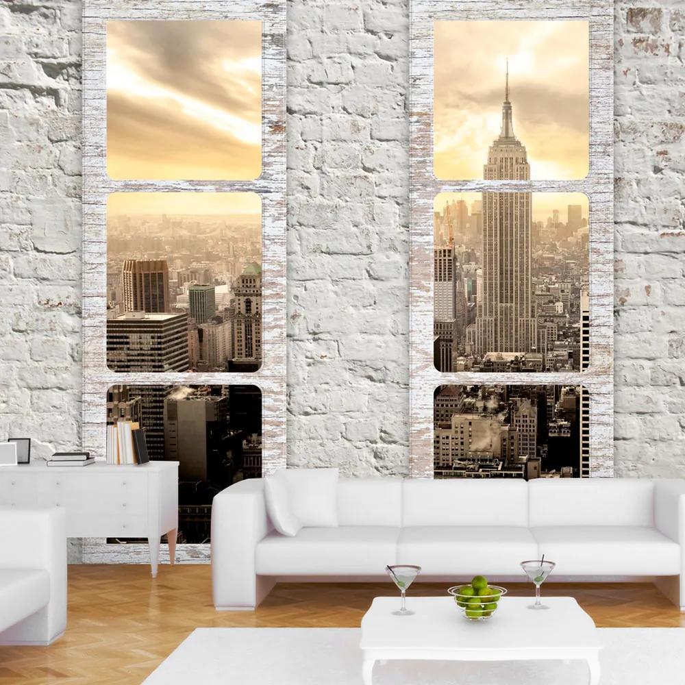 Fototapeta - New York: view from the window 300x210
