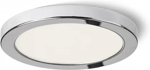 HUE R 9 DIMM | stmievateľné led svietidlo okrúhle zápustené Farba: Chróm