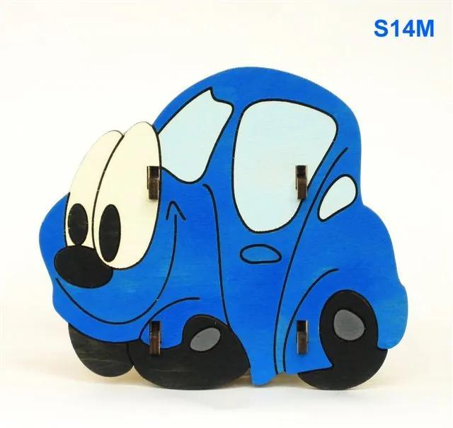 Stojan na ceruzky Auto modré