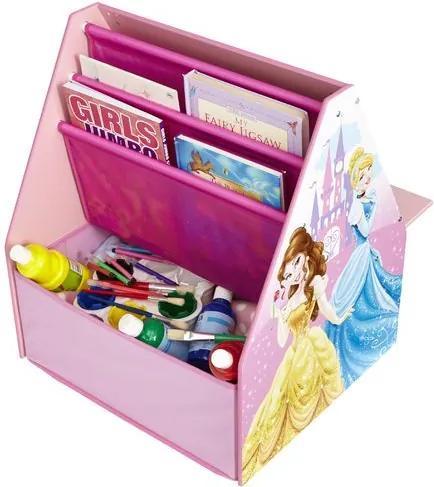 MAXMAX Detský multifunkčný úložný box Princezny pre dievča