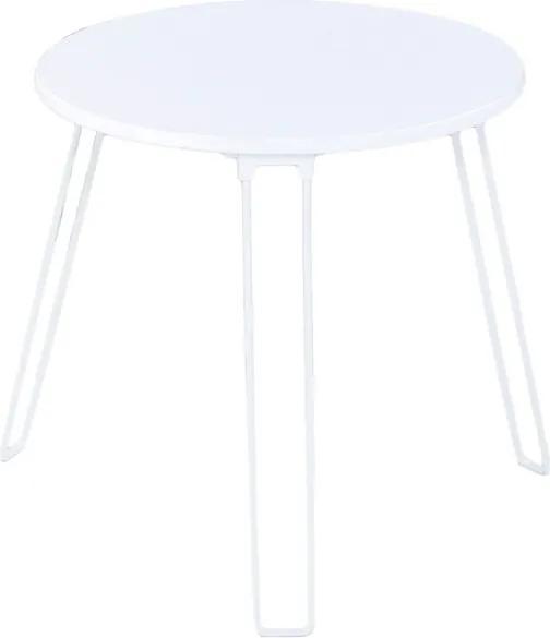 Sconto Prístavný stolík COLORADO biela
