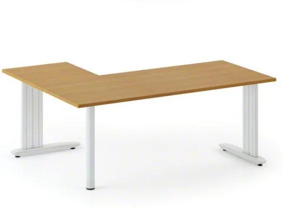 Kancelársky stôl Flexible L 1600 x 1400 mm, buk